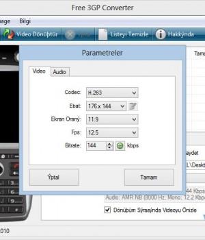 Free 3GP Converter Ekran Görüntüleri - 2