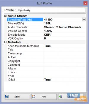 Free Audio Converter 4dots Ekran Görüntüleri - 2
