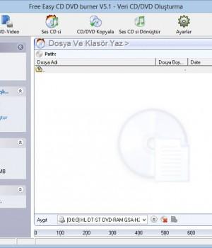Free CD DVD Burner Ekran Görüntüleri - 5
