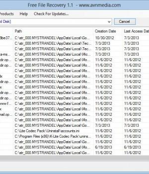 Free File Recovery Ekran Görüntüleri - 1