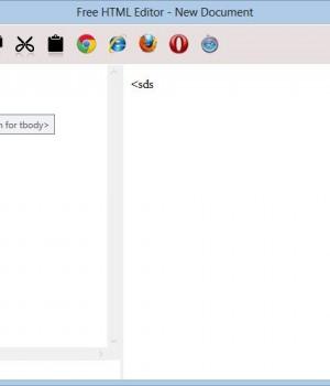 Free HTML Editor Ekran Görüntüleri - 1