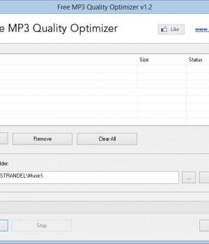Free MP3 Quality Optimizer Ekran Görüntüleri - 3