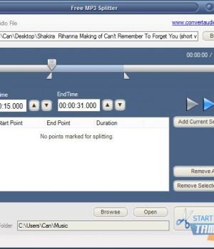Free MP3 Splitter Ekran Görüntüleri - 1