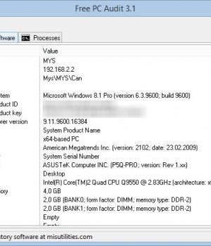 Free PC Audit Ekran Görüntüleri - 3