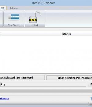 Free PDF Unlocker Ekran Görüntüleri - 3