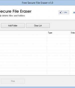 Free Secure File Eraser Ekran Görüntüleri - 2