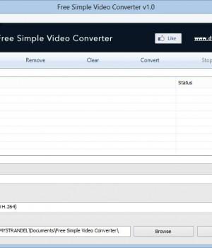 Free Simple Video Converter Ekran Görüntüleri - 2