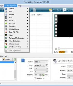 Free Video Converter Ekran Görüntüleri - 3