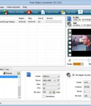 Free Video Converter Ekran Görüntüleri - 2
