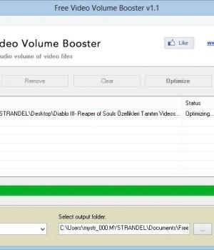 Free Video Volume Booster Ekran Görüntüleri - 1