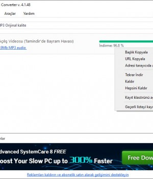 Free YouTube to MP3 Converter Ekran Görüntüleri - 1