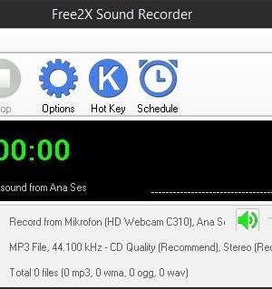 Free2X Sound Recorder Ekran Görüntüleri - 5