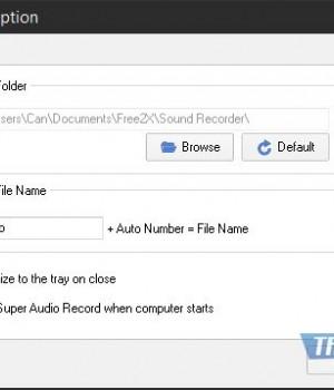 Free2X Sound Recorder Ekran Görüntüleri - 4
