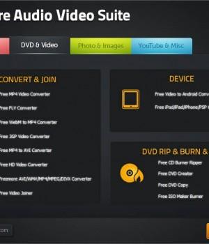 Freemore Audio Video Suite Ekran Görüntüleri - 3