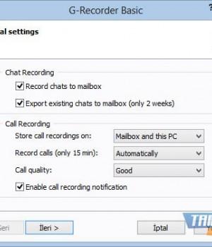 G-Recorder Basic Ekran Görüntüleri - 1