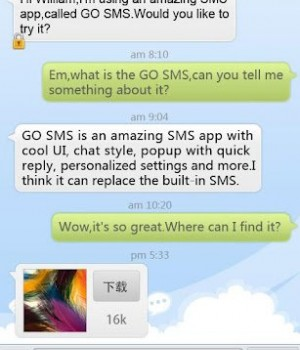 GO SMS Pro Ekran Görüntüleri - 5