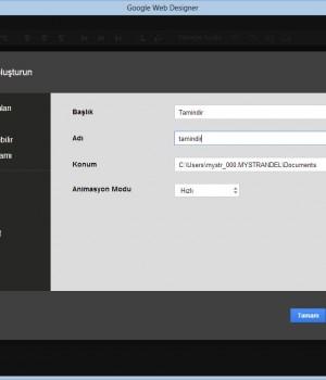 Google Web Designer Ekran Görüntüleri - 4