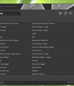 Grooveshark Downloader Ekran Görüntüleri - 3