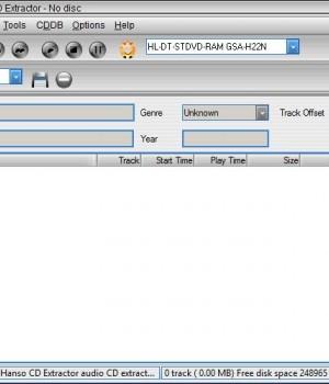 Hanso CD Extractor Ekran Görüntüleri - 3