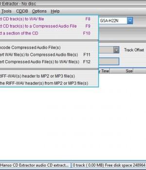Hanso CD Extractor Ekran Görüntüleri - 2