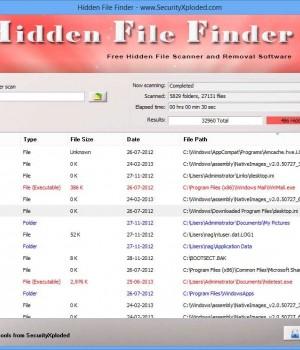 Hidden File Finder Ekran Görüntüleri - 2