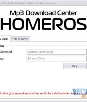 Homeros Mp3 Download Center Ekran Görüntüleri - 5