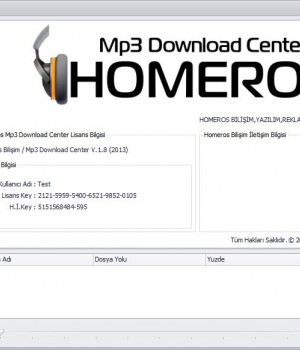 Homeros Mp3 Download Center Ekran Görüntüleri - 4