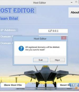 Host Editor Ekran Görüntüleri - 1