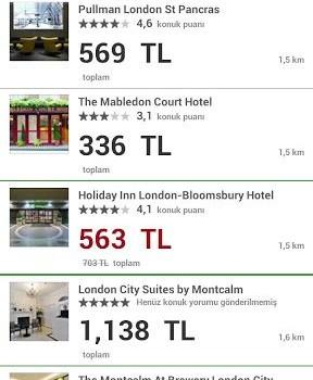 Hotels.com Ekran Görüntüleri - 2