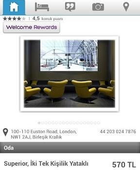 Hotels.com Ekran Görüntüleri - 3