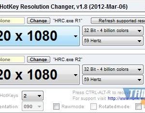 HotKey Resolution Changer Ekran Görüntüleri - 1