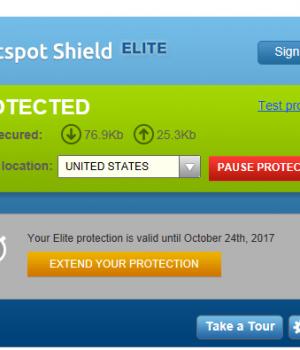 Hotspot Shield Elite Ekran Görüntüleri - 1