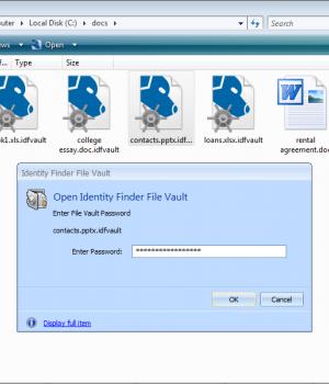 Identity Finder Ekran Görüntüleri - 3
