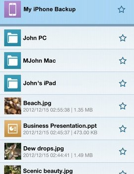IDrive (Online Backup) Ekran Görüntüleri - 4