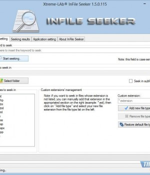 InFile Seeker Ekran Görüntüleri - 1