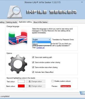 InFile Seeker Ekran Görüntüleri - 2