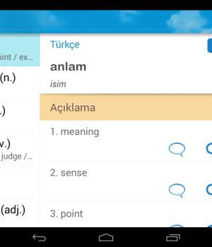 İngilizce Türkçe Sözlük Ekran Görüntüleri - 10