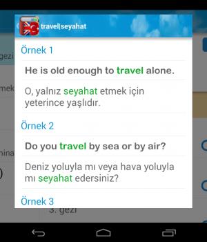 İngilizce Türkçe Sözlük Ekran Görüntüleri - 9