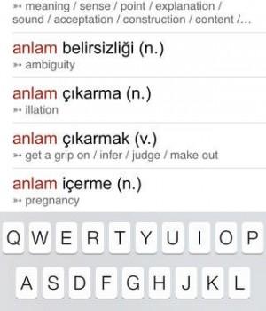 İngilizce Türkçe Sözlük Ekran Görüntüleri - 2