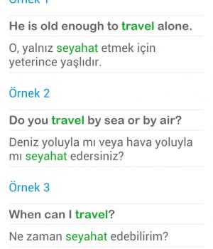 İngilizce Türkçe Sözlük Ekran Görüntüleri - 5
