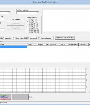 Interface Traffic Indicator Ekran Görüntüleri - 1