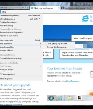 Internet Explorer 10 Ekran Görüntüleri - 1