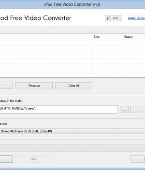 iPod Free Video Converter Ekran Görüntüleri - 3