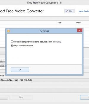 iPod Free Video Converter Ekran Görüntüleri - 2