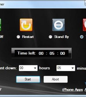 iShutdown Timer Ekran Görüntüleri - 1