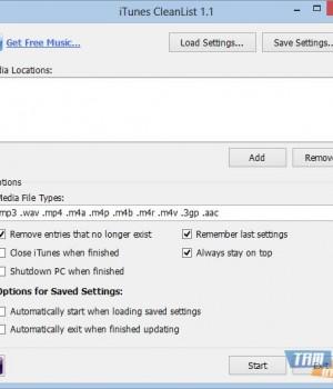 iTunes CleanList Ekran Görüntüleri - 1