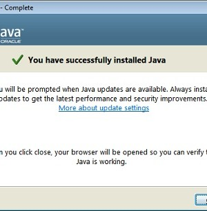 Java Runtime Environment Ekran Görüntüleri - 1