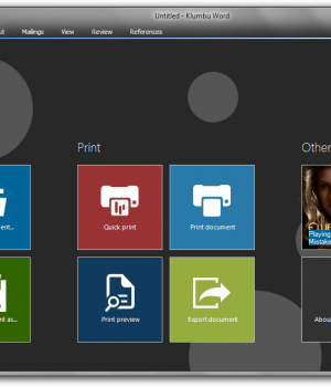 Klumbu Word Ekran Görüntüleri - 1