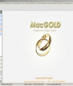 MacGold Kuyumcu Programı Ekran Görüntüleri - 1