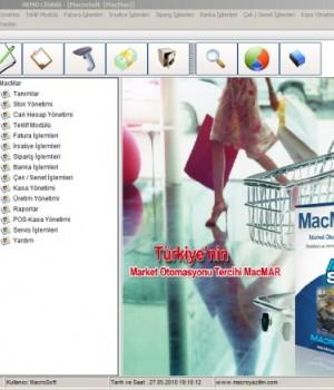 MacMar Market Programı Ekran Görüntüleri - 1